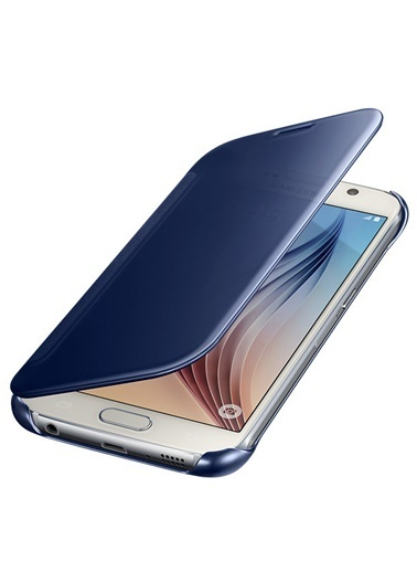 Samsung Samsung Galaxy S6 Uyumlu Orjinal Clear View Telefon Kılıfı Renkli